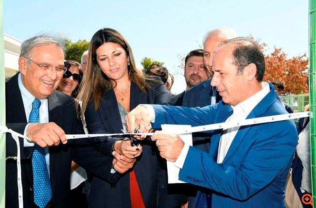 Με χορηγία του ομίλου Ελληνικά Πετρέλαια η ανακατασκευή του σχολικού συγκροτήματος Ραφήνας