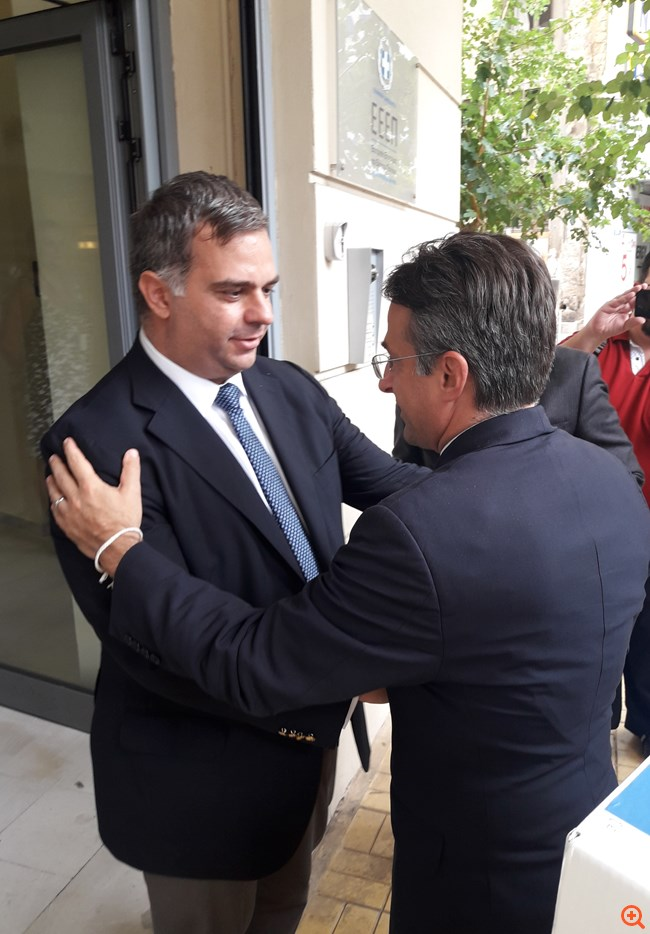"""Πώς Περιστέρης-Κοντομέρκος """"τίναξαν την μπάνκα"""" για το καζίνο στο Ελληνικό"""
