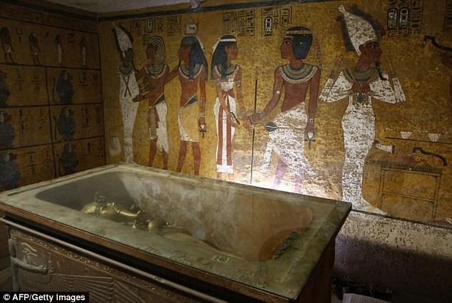 Αίγυπτος: Δύο κρυφοί θάλαμοι στον τάφο του Τουταγχαμών;