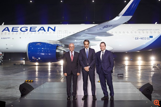 Από την Παρασκευή σταδιακά στο δίκτυο της Aegean τα Airbus A320neo