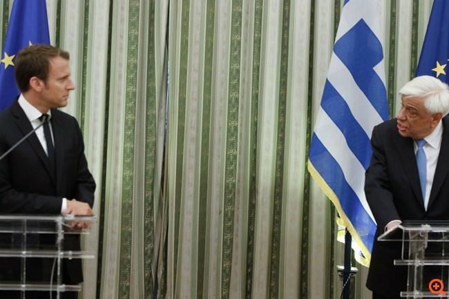 Στην Αθήνα ο Εμμανουέλ Μακρόν