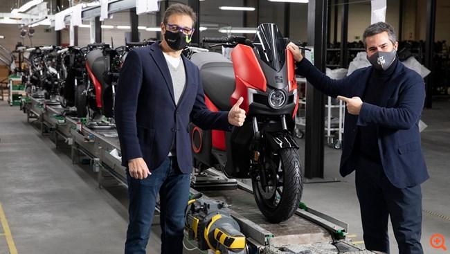 Ξεκίνησε η παραγωγή του ηλεκτρικού Seat MÓ eScooter 125