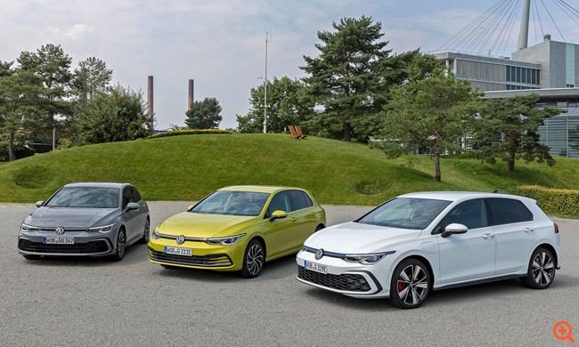 To VW Golf στην κορυφή της Ευρώπης για το 2020