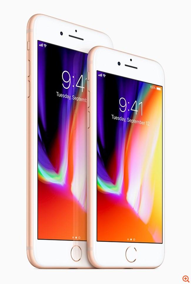Η Apple παρουσίασε τα νέα iPhone 8, 8 Plus και iPhone X
