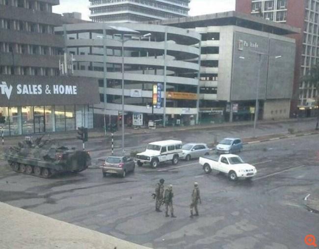 Ζιμπάμπουε πραξικόπημα