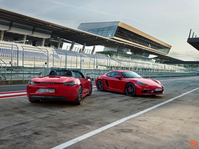 THE NEW PORSCHE 718 GTS MODELS