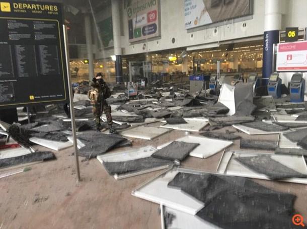 Πολύνεκρα Χτυπήματα Στις Βρυξέλλες - εικόνα 3