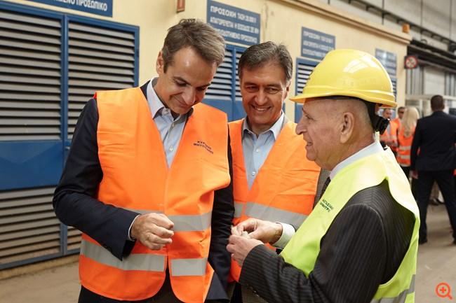 Κ. Μητσοτάκης: Η ΝΔ στηρίζει τη βιομηχανική δραστηριότητα και την καινοτομία