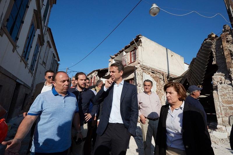 Μητσοτάκης: Απαλλαγή για δύο χρόνια από τον ΕΝΦΙΑ για τους σεισμόπληκτους