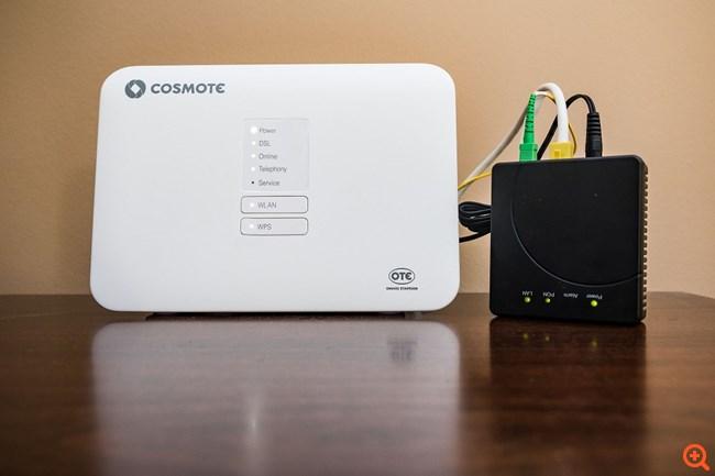 "Cosmote: 100% οπτική ίνα μέχρι το σπίτι με επιδότηση από τη δράση ""Superfast Broadband"