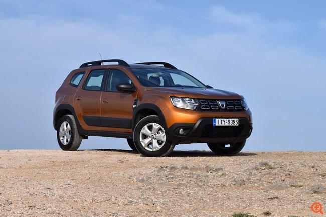 Σε άσφαλτο και χώμα με το νέο Dacia Duster