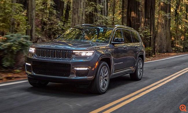 H Jeep αποκαλύπτει το νέο Grand Cherokee L
