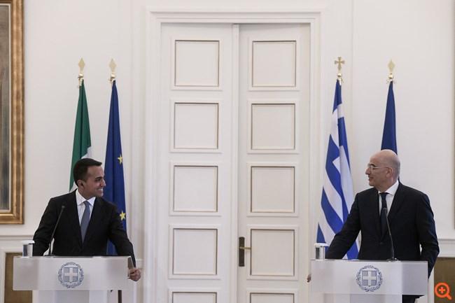 Ν. Δένδιας: Ιστορική η οριοθέτηση ΑΟΖ Ελλάδας-Ιταλίας - Επιβεβαιώνει το δικαίωμα των νησιών σε θαλάσσιες ζώνες