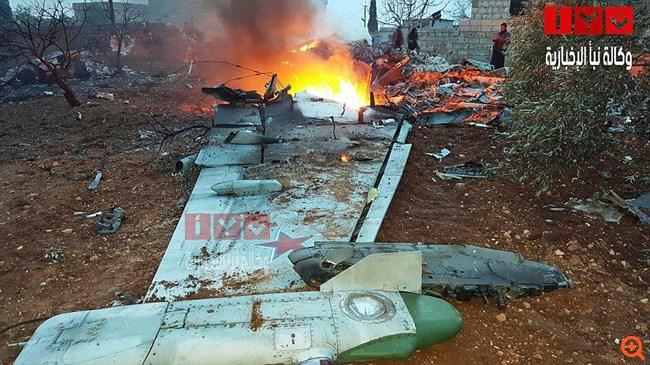 Ρωσικό μαχητικό καταρρίφθηκε στη Συρία - νεκρός ο πιλότος