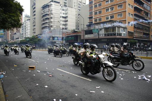 βενεζουέλα διαδηλώσεις