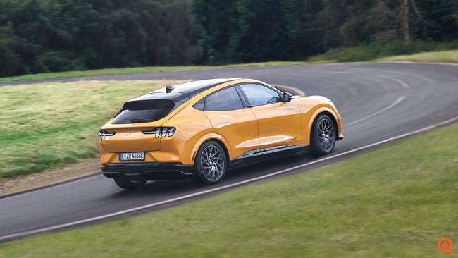 Πρεμιέρα για την ηλεκτρική Ford Mustang Mach-E GT