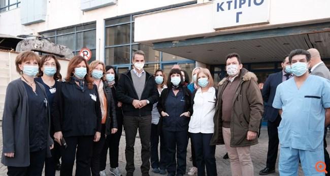 Κ. Μητσοτάκης: Δωρεάν και όχι υποχρεωτικό το εμβόλιο - Το ΕΣΥ πιέστηκε, αλλά άντεξε και θα αντέξει
