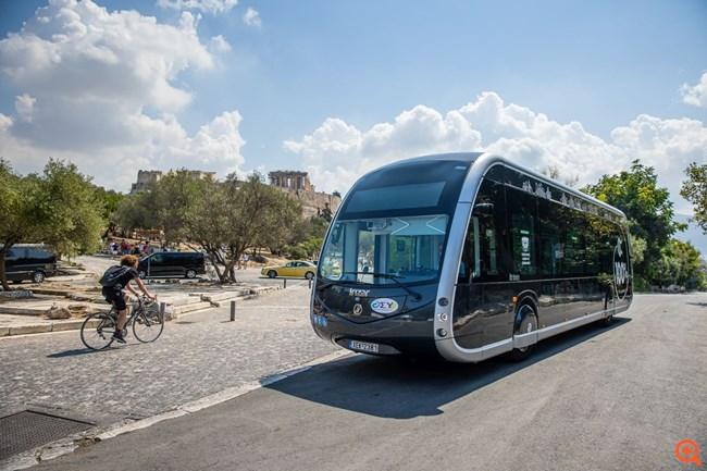 Το ηλεκτρικό λεωφορείο Irizar ie tram από τον Όμιλο Σαρακάκη στην Ελλάδα