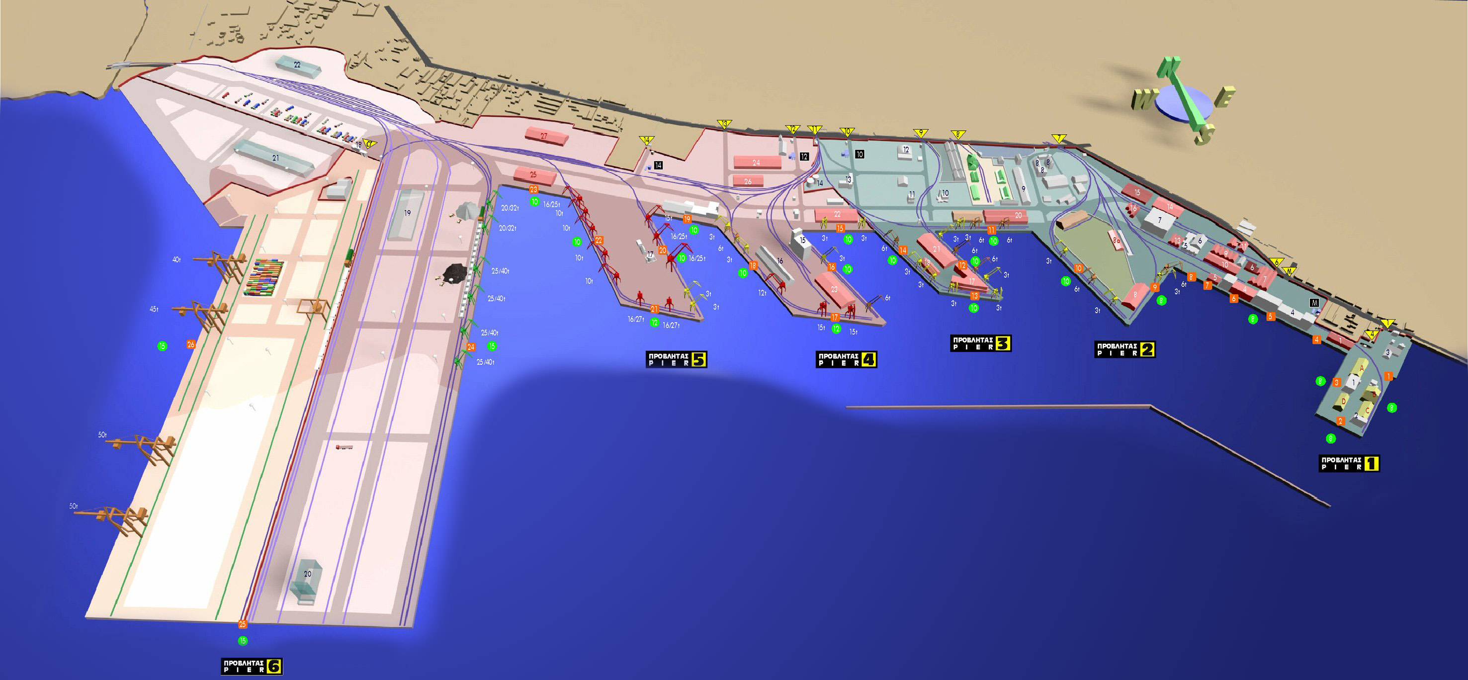 Αμερικανικό ενδιαφέρον για το εμπορευματικό κέντρο στη Θεσσαλονίκη