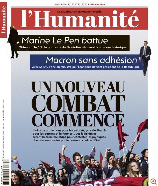 humanite macron