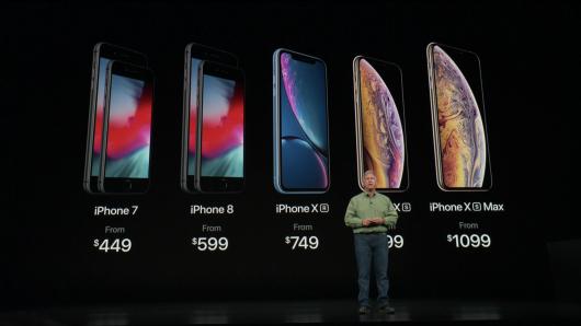 Ιδού τα νέα iPhone της Apple – οι τιμές τους
