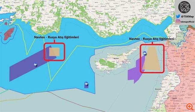 Τι ισχύει με τις τουρκο-ρωσικές Navtex