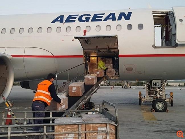 Σε εξέλιξη η μεταφορά της μεγαλύτερης προμήθειας υγειονομικού υλικού σε Ελλάδα από την Κίνα