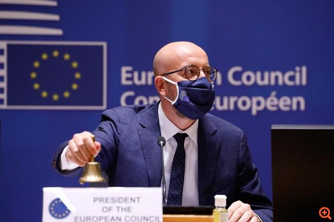Μισέλ Σύνοδος Κορυφής ΕΕ Οκτώβριος 2020