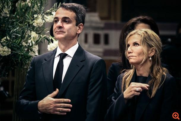 Κωνσταντίνος Μητσοτάκης κηδεία