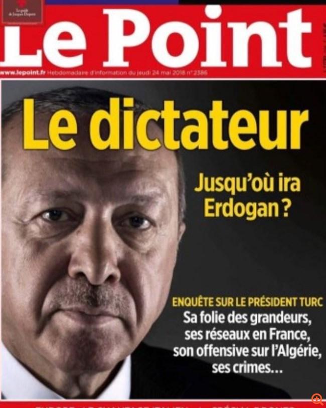 """Tο εξώφυλλο του Le Point που εξόργισε τους Τούρκους - """"Βολές"""" κατά Ερντογάν από τον ξένο Τύπο"""