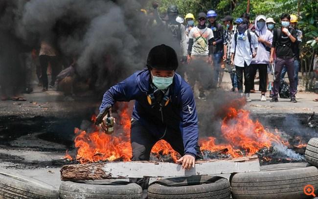 Μιανμάρ: Πάνω από 90 νεκροί σκοτώθηκαν από τις δυνάμεις ασφαλείας