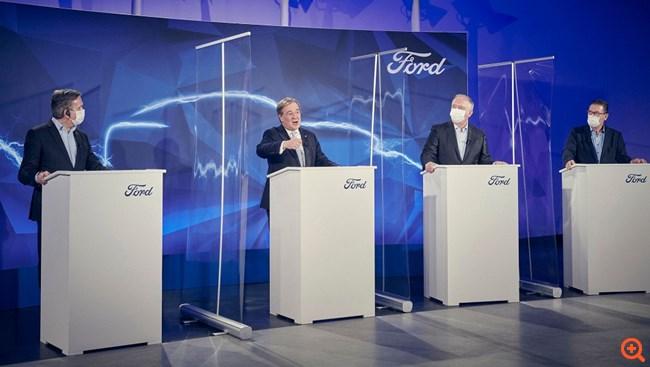 Όλα τα μοντέλα Ford στην Ευρώπη θα είναι ηλεκτρικά έως το 2030
