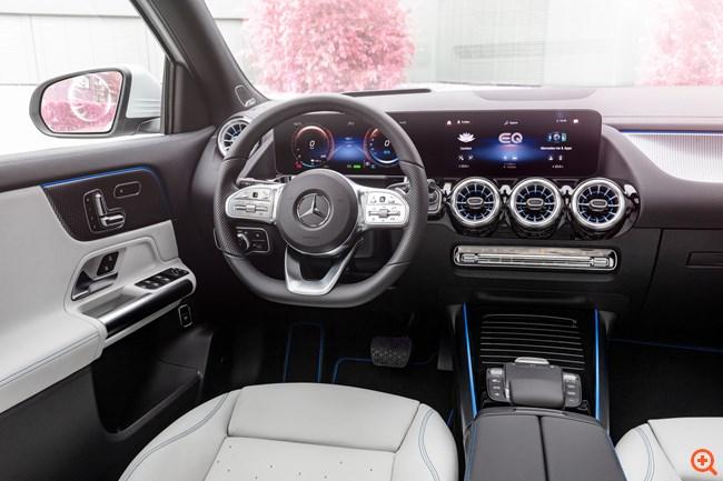 Στην Ελλάδα η ηλεκτρική Mercedes EQA