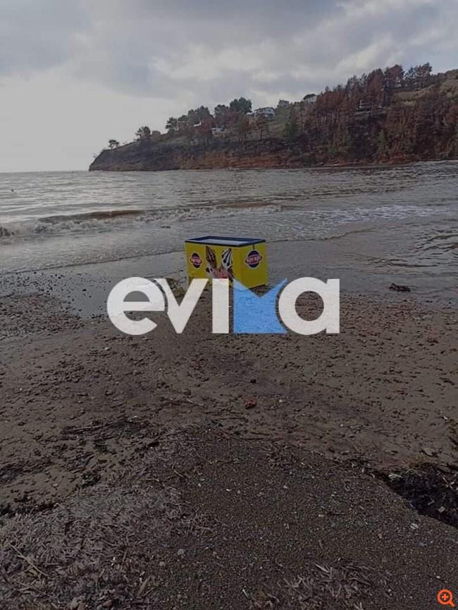 Βόρεια Εύβοια: Μεγάλες καταστροφές από τις πλημμύρες της χθεσινής βροχόπτωσης
