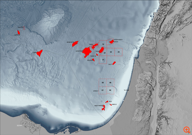 Energean: Απολήψιμα 25 δισ. κυβικά μέτρα αερίου στο Βόρειο Καρίς