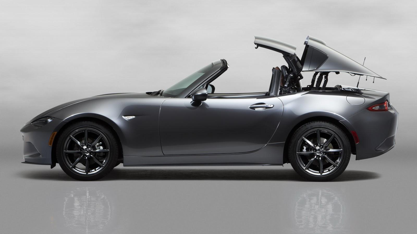 Mazda : To MX-5 με εντυπωσιακή σκληρή οροφή