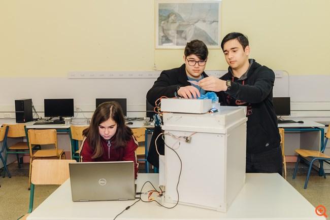 Μαθητές δημιούργησαν καινοτόμες τεχνολογίες για ένα καλύτερο αύριο
