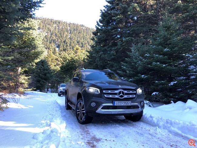 Ζήσε την εμπειρία Mercedes-Benz X-Class στον Παρνασσό