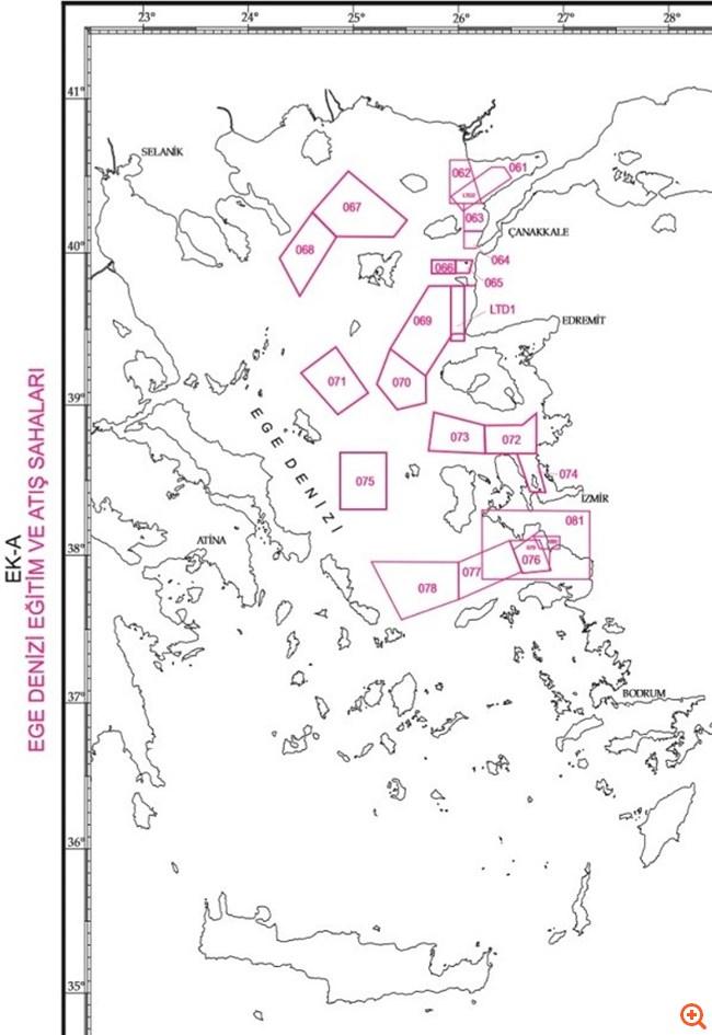 τουρκία χάρτης β
