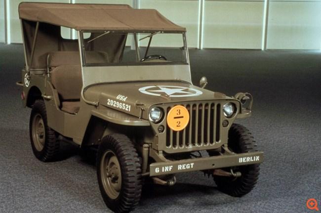 Εξελίσσοντας το θρυλικό Jeep Willys