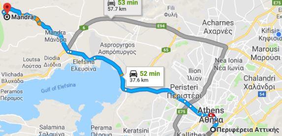 ΝΔ σε ΣΥΡΙΖΑ: Τσίπρας και Δούρου δεν έχουν τολμήσει να επισκεφθούν τη Μάνδρα