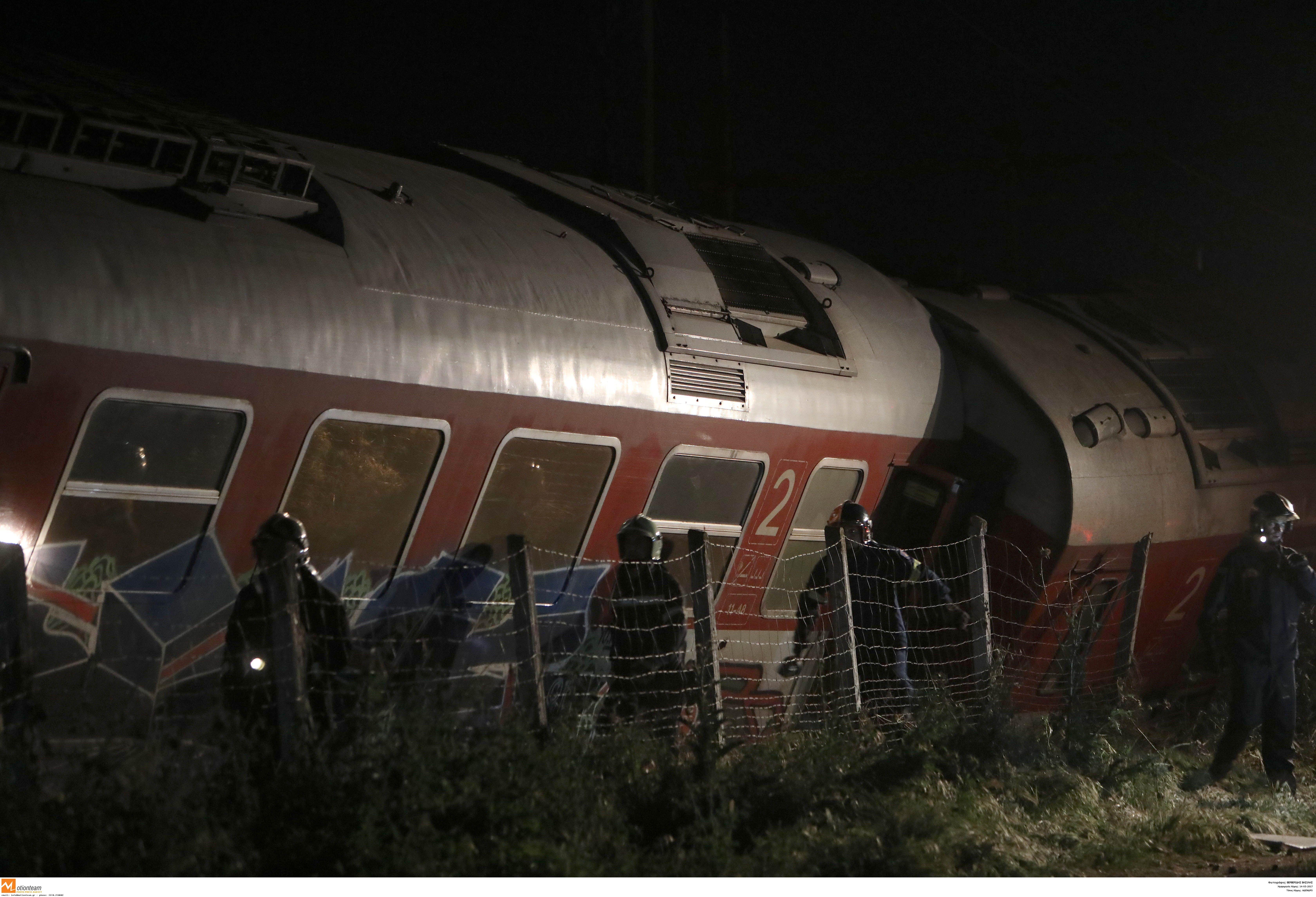 Τέσσερις νεκροί  από τον εκτροχιασμό αμαξοστοιχίας έξω από τη Θεσσαλονίκη