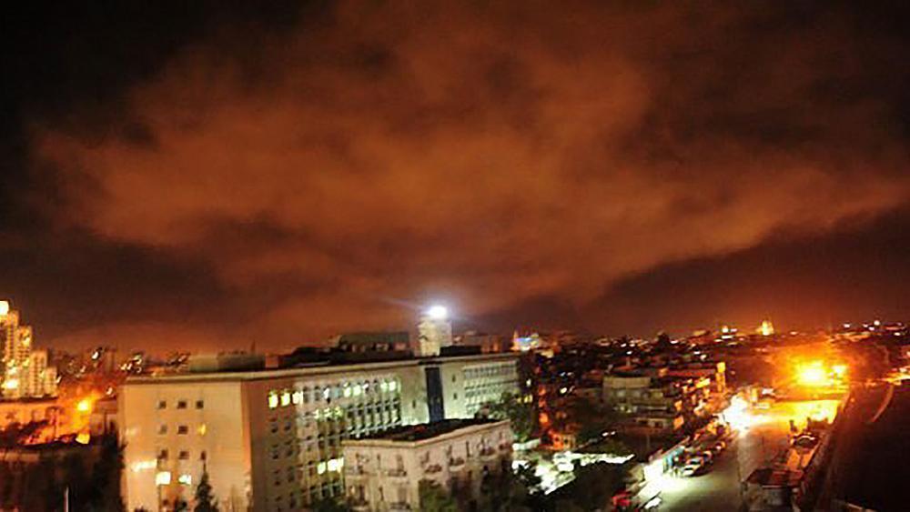 Πυραυλική επιδρομή στη Συρία διενήργησαν ΗΠΑ, Βρετανία και Γαλλία