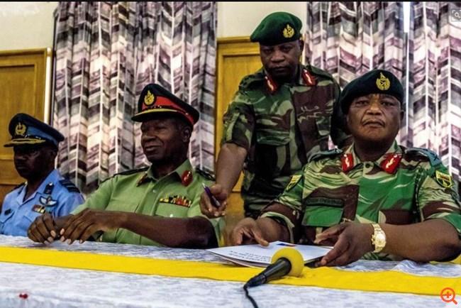 Σε εξέλιξη πραξικόπημα του στρατού στη Ζιμπάμπουε