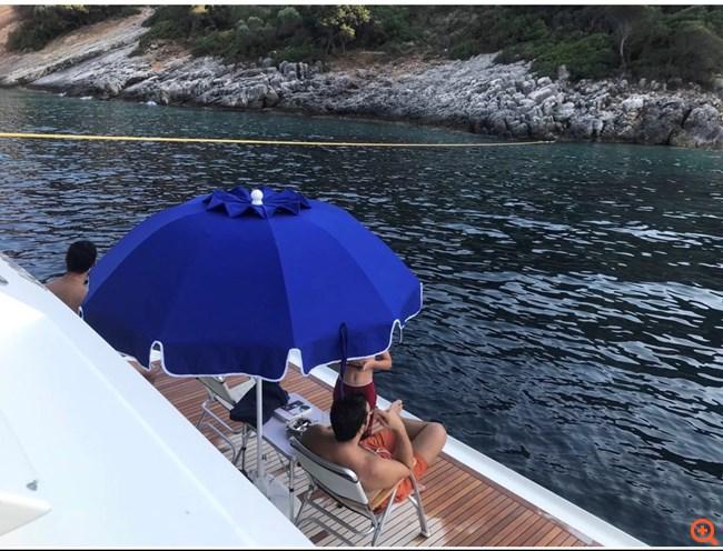 Τσίπρας σκάφος διακοπές Μάτι