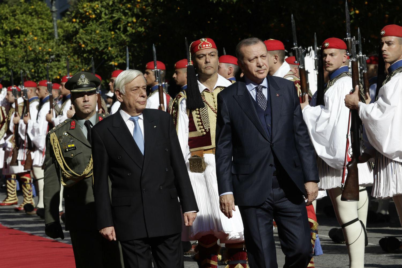 ερντογάν παυλόπουλος
