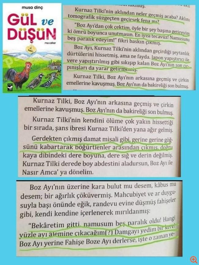Αδιανόητο: Τουρκικό βιβλίο μαθαίνει τα παιδιά να βιάζουν για να εκδικηθούν και να εξευτελίσουν!