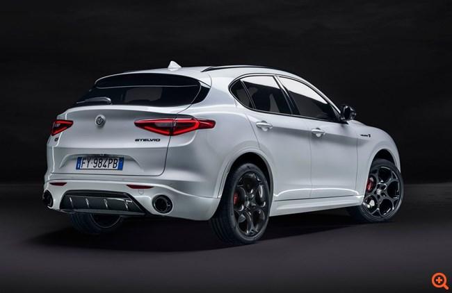 Alfa Romeo Stelvio: Με νέους κινητήρες και τιμές