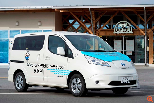 Η Nissan χτίζει μια βιώσιμη μελλοντική κοινότητα στην Ιαπωνία