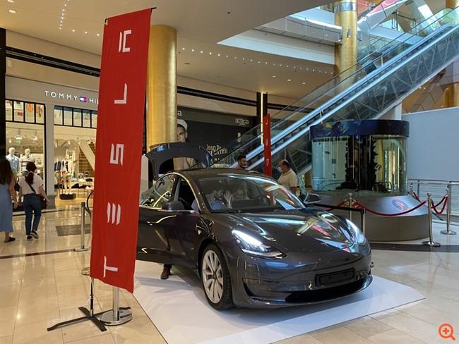 Tesla: Από σήμερα και για πρώτη φορά στην Ελλάδα στο Golden Hall